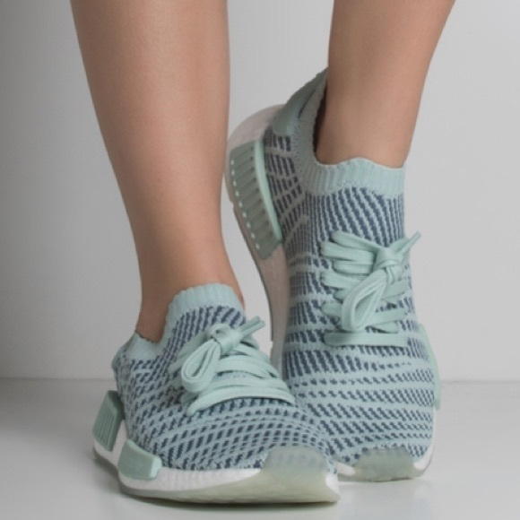 online retailer 79ff2 06c59 Adidas Women s Blue NMD R1 STLT PK W